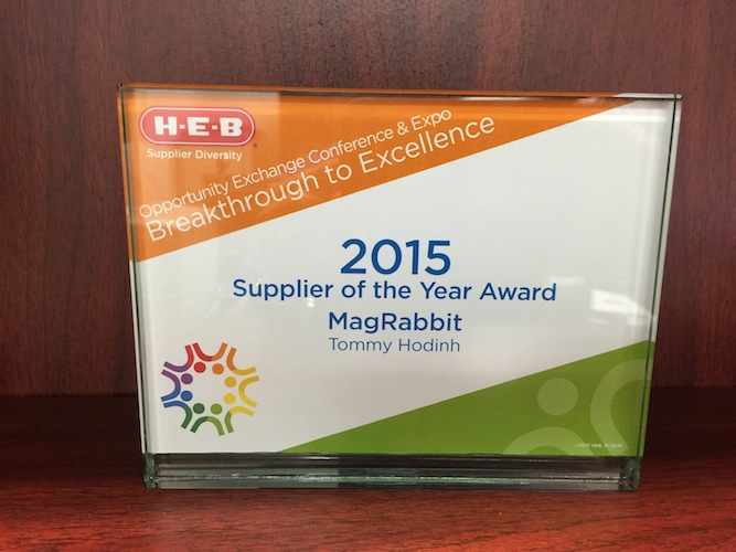 2015 Minority Supplier of the Year Award