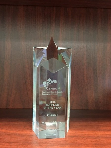 2015 SMSDC Supplier of the Year Award